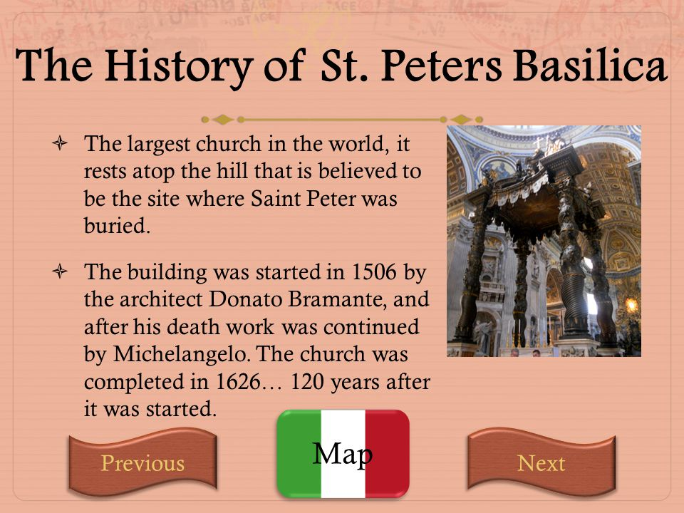 The History of St. Peters Basilica