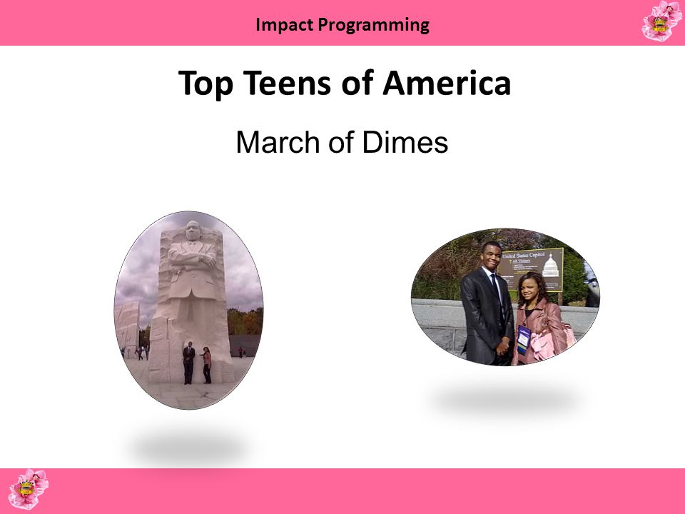 Top Teens of America March of Dimes