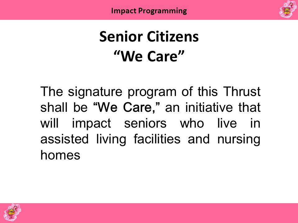 Senior Citizens We Care