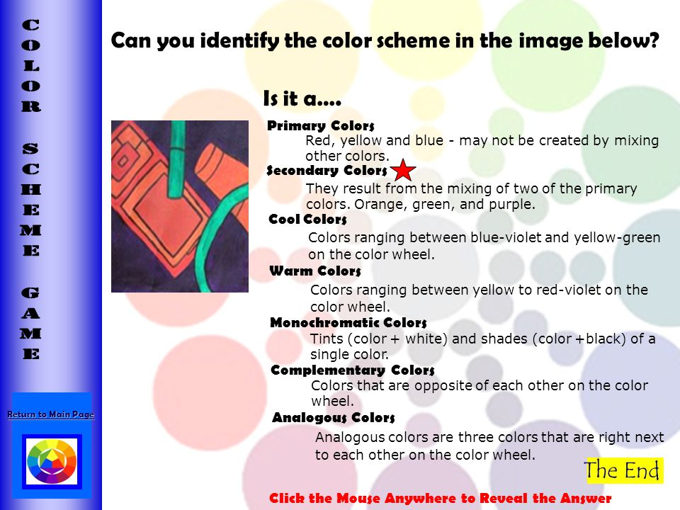 Can you identify the color scheme in the image below Is it a….