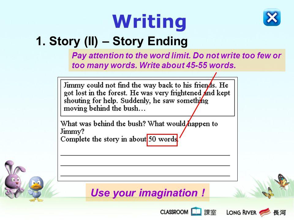 1. Story (II) – Story Ending
