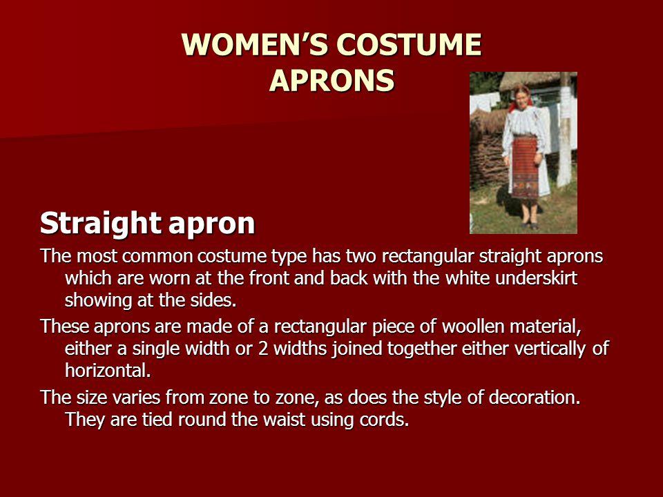 WOMEN'S COSTUME APRONS