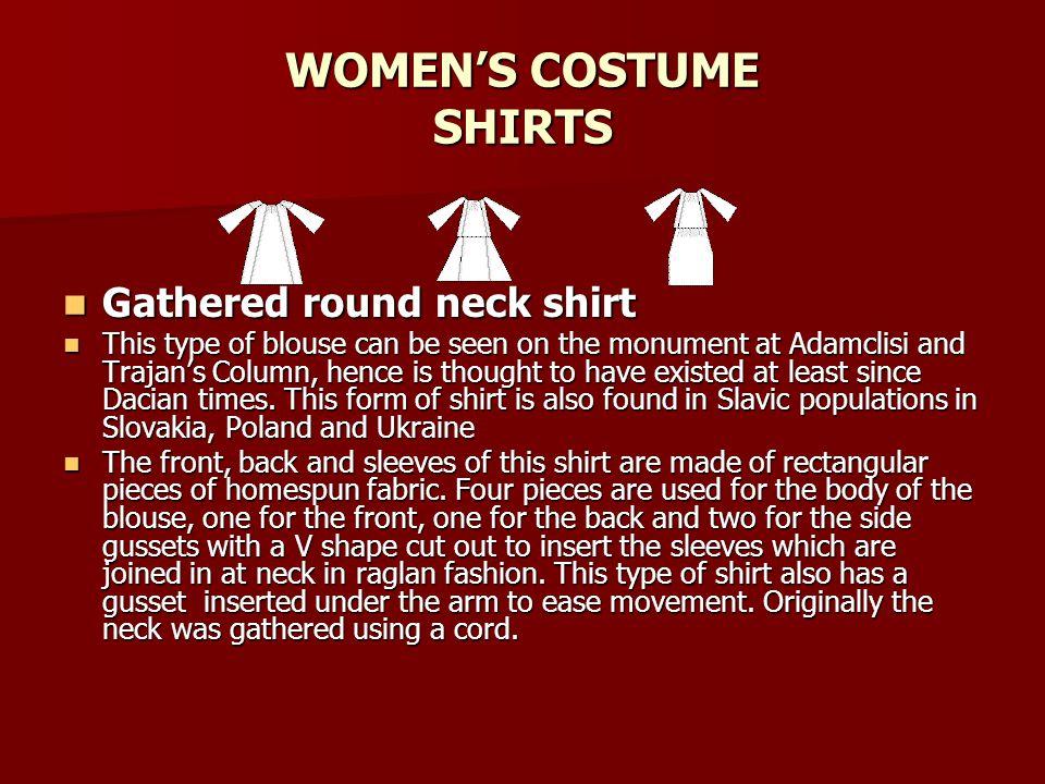 WOMEN'S COSTUME SHIRTS