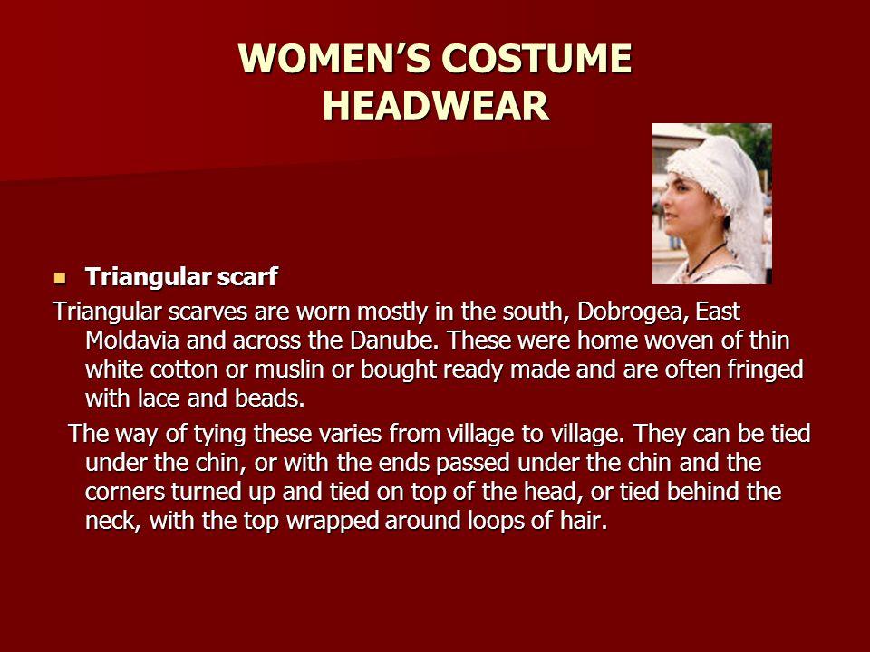 WOMEN'S COSTUME HEADWEAR