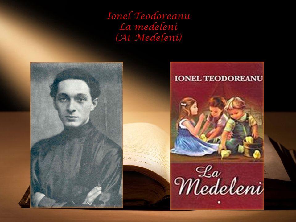 Ionel Teodoreanu La medeleni (At Medeleni)