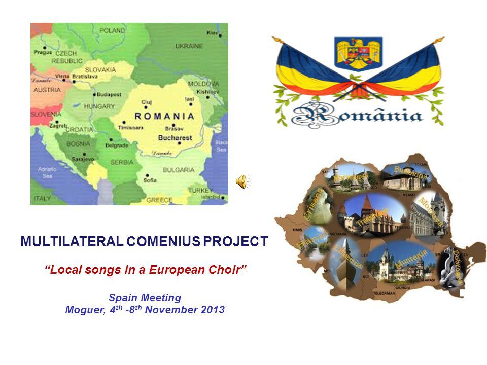 Local songs in a European Choir