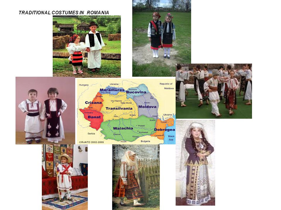 TRADITIONAL COSTUMES IN ROMANIA