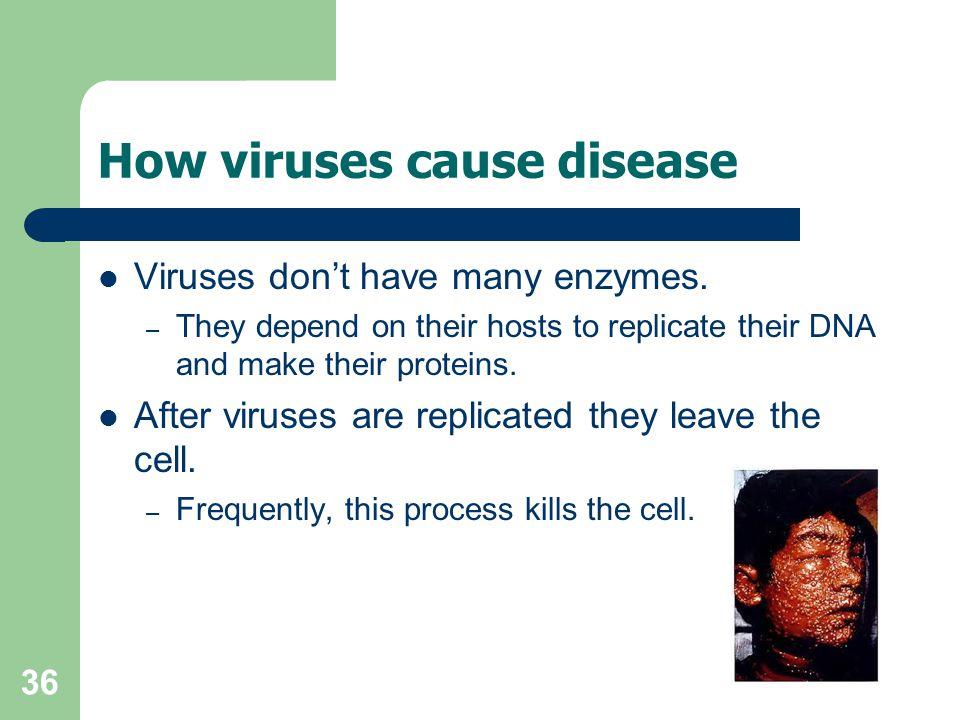 How viruses cause disease