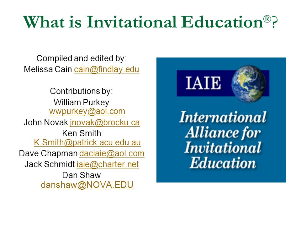 What is Invitational Education®