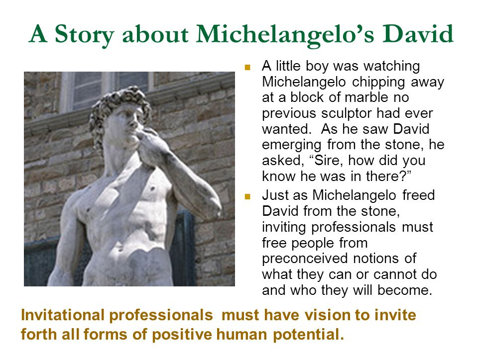 A Story about Michelangelo's David