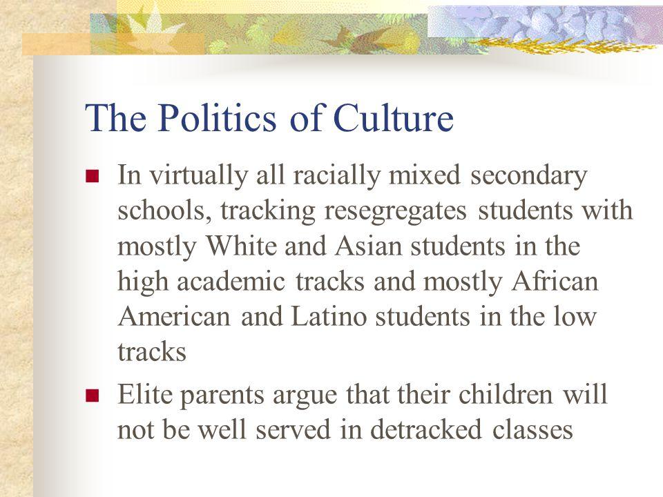 The Politics of Culture