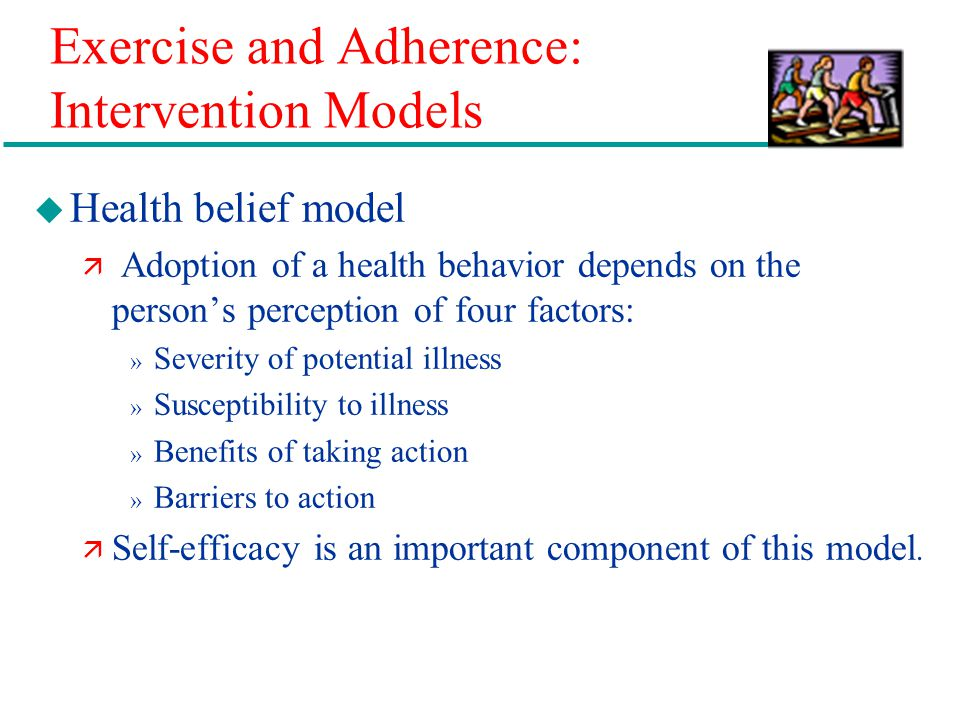 Exercise and Adherence: Intervention Models