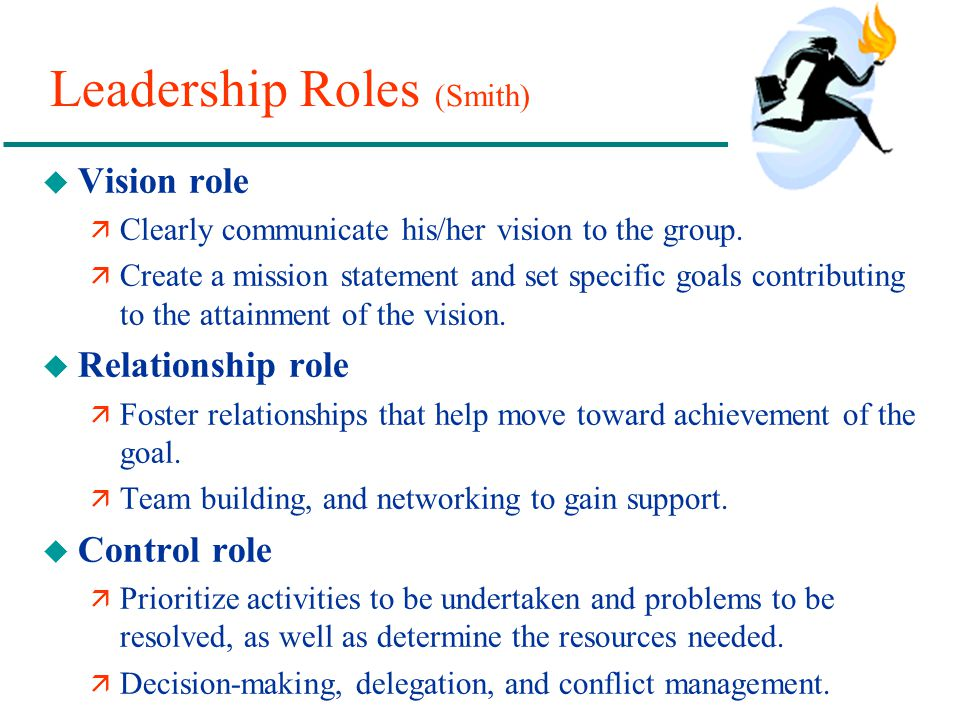 Leadership Roles (Smith)
