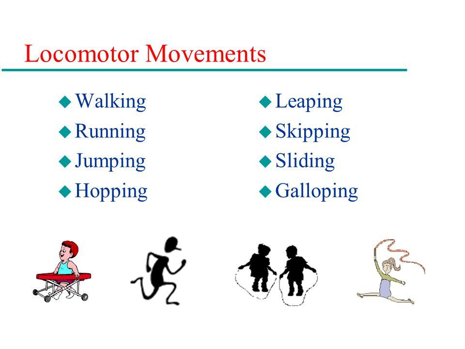 Locomotor Movements Walking Running Jumping Hopping Leaping Skipping