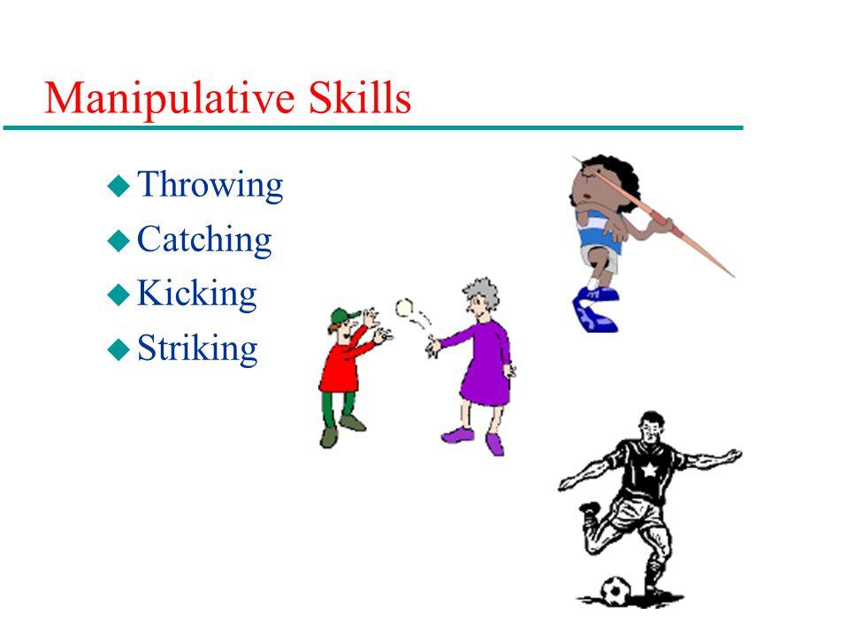 Manipulative Skills Throwing Catching Kicking Striking 12