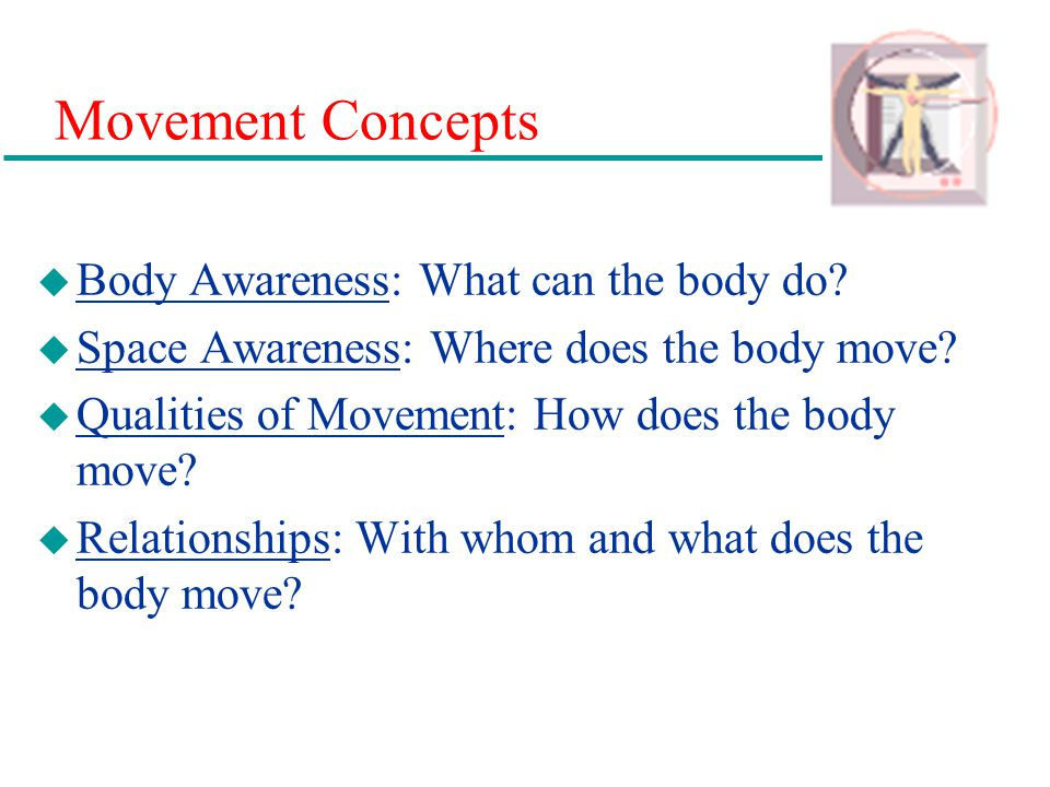 Movement Concepts Body Awareness: What can the body do