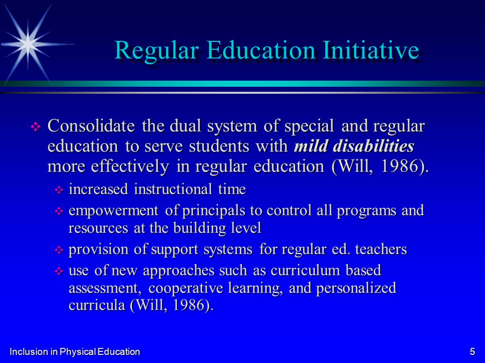Regular Education Initiative
