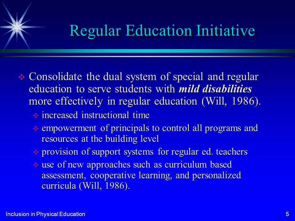 Regular Education Initiative