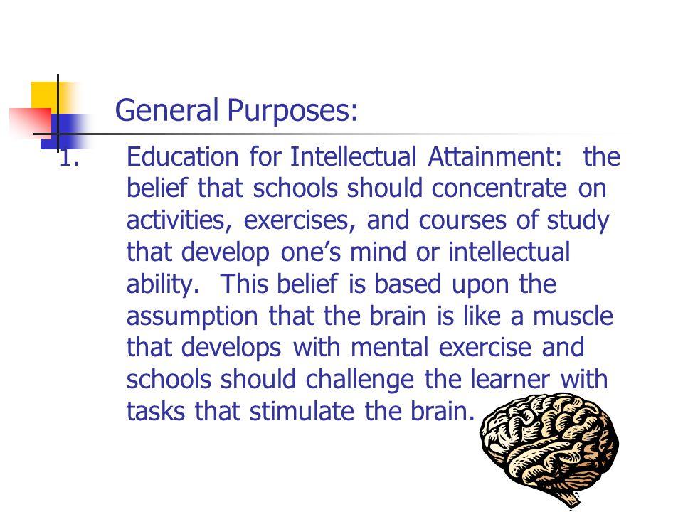 General Purposes: