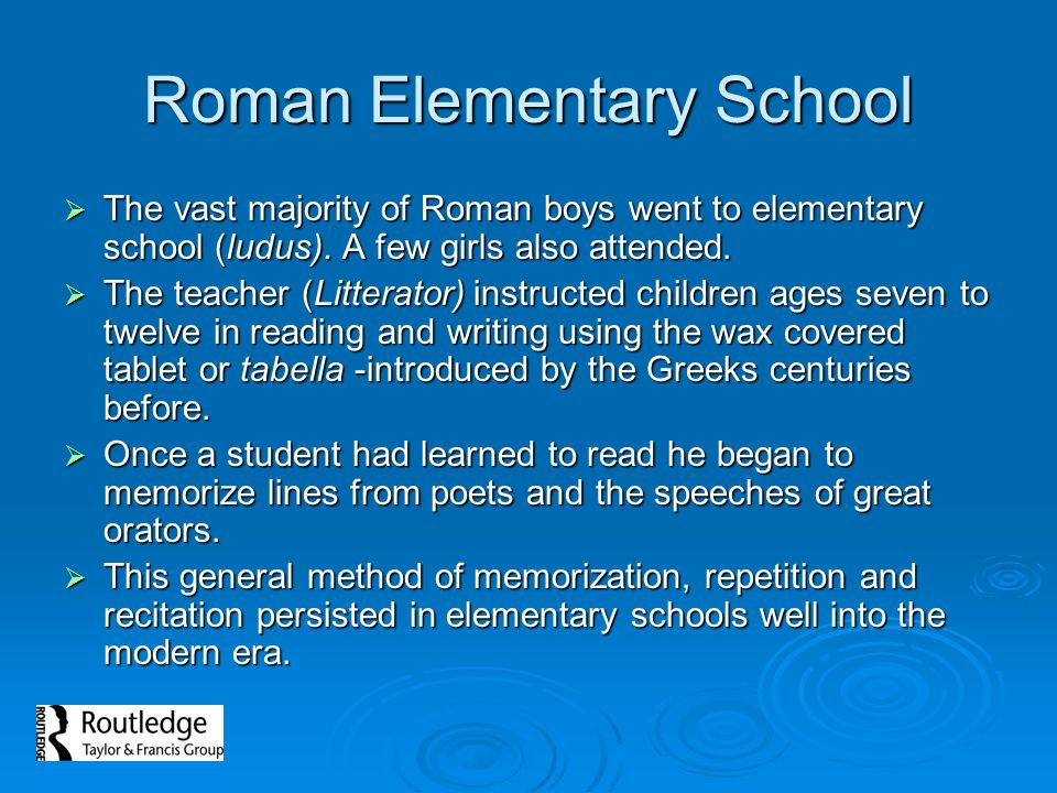 Roman Elementary School