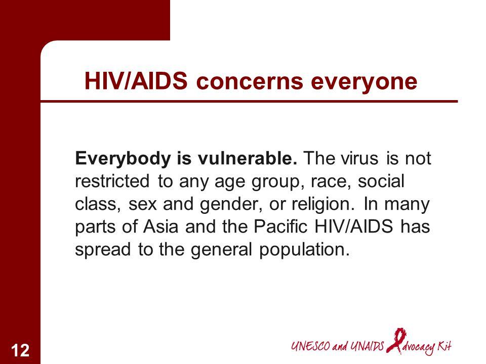 HIV/AIDS concerns everyone