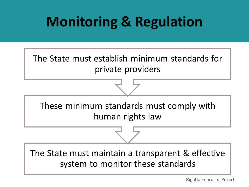 Monitoring & Regulation