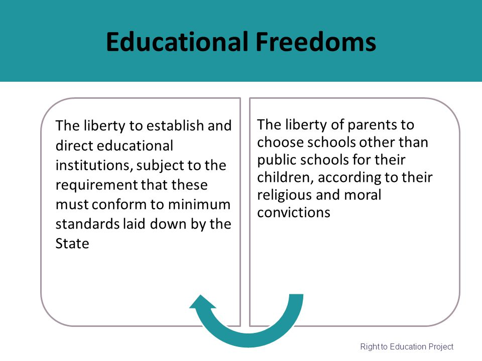 Educational Freedoms
