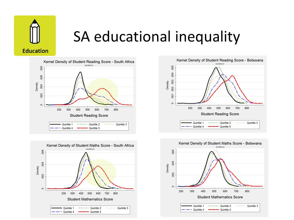 SA educational inequality