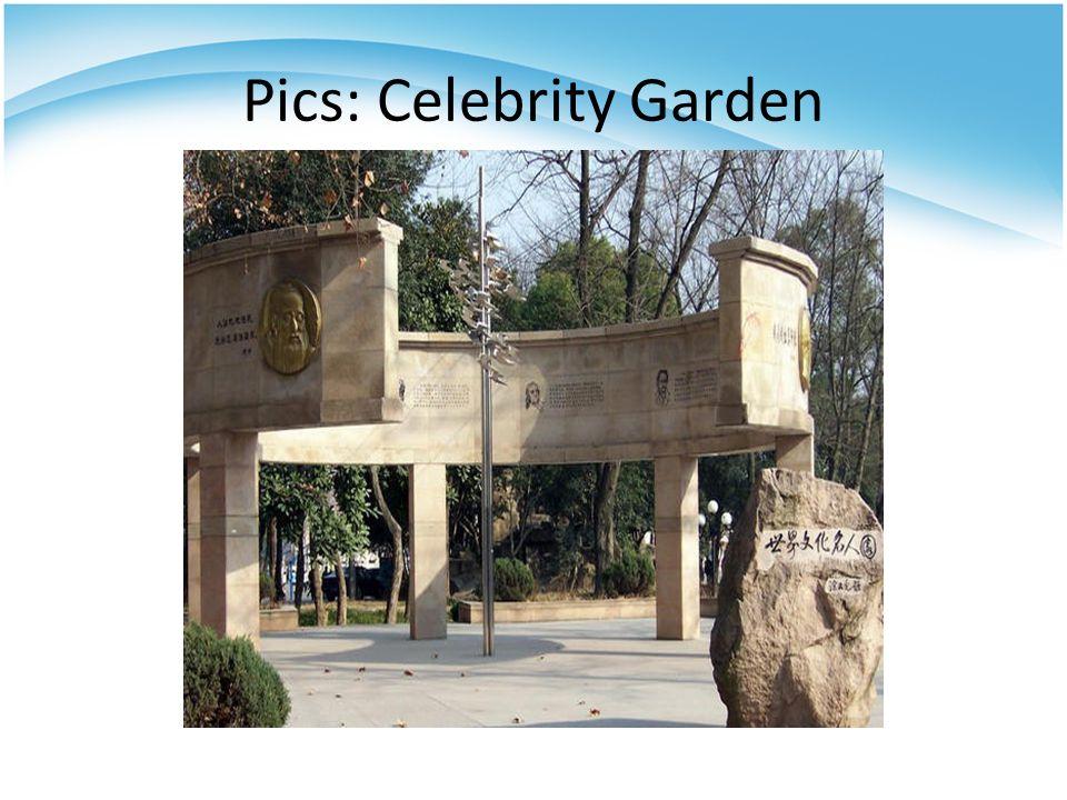 Pics: Celebrity Garden