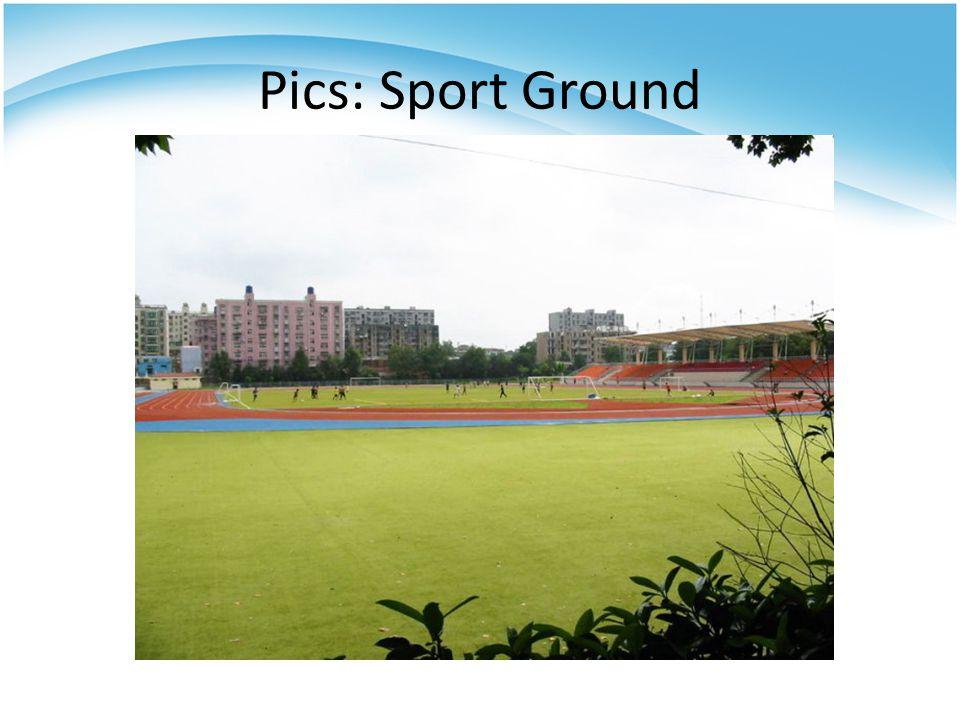 Pics: Sport Ground