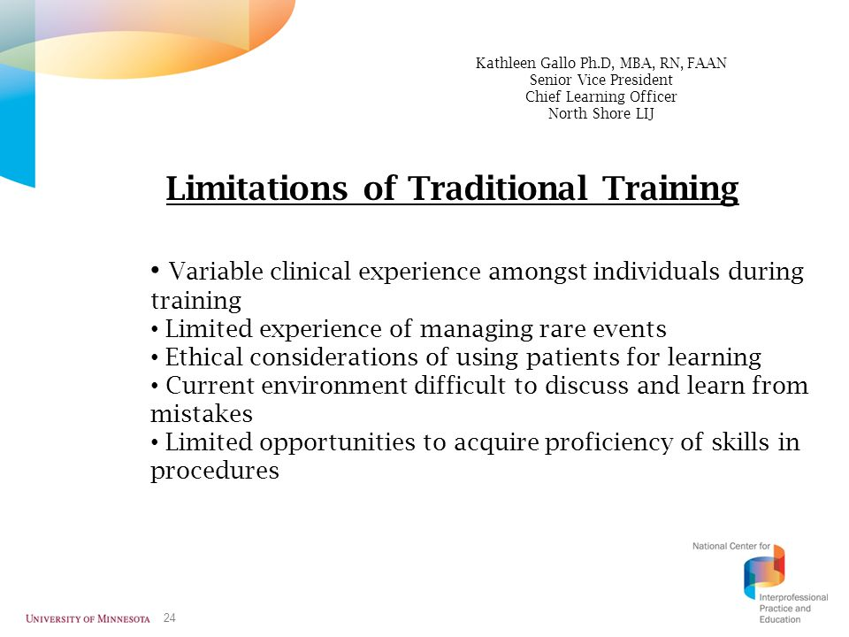 Limitations of Traditional Training