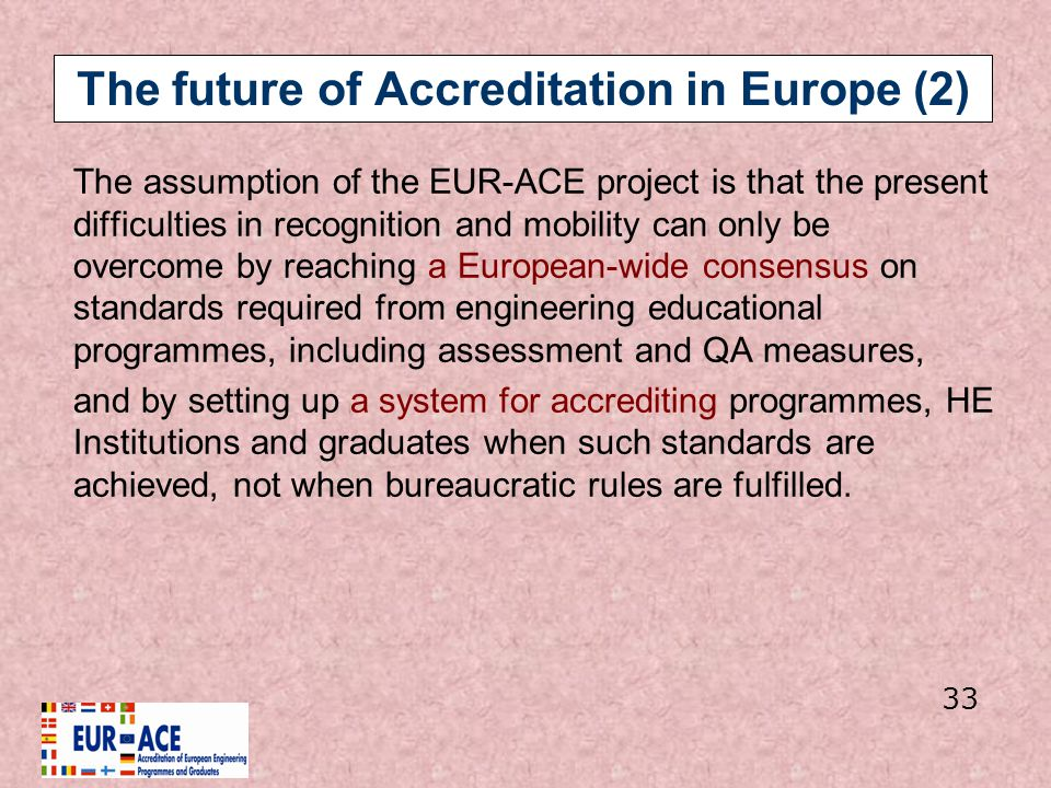The future of Accreditation in Europe (2)