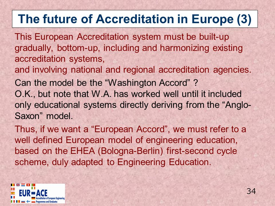 The future of Accreditation in Europe (3)