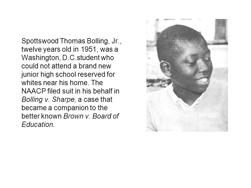 Spottswood Thomas Bolling, Jr