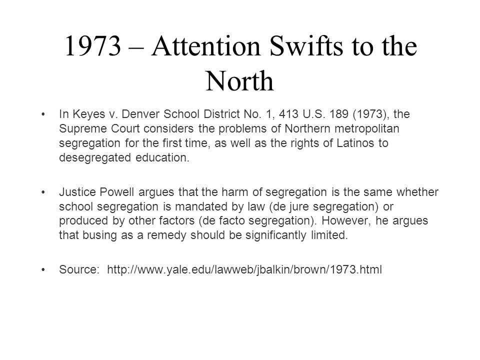 1973 – Attention Swifts to the North