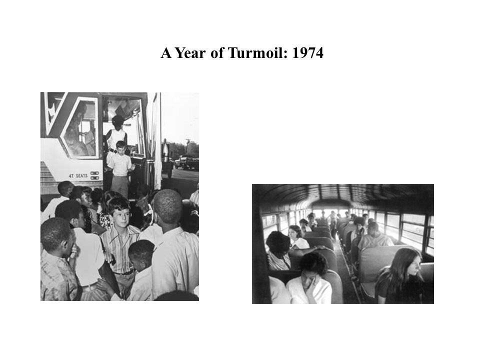 A Year of Turmoil: 1974