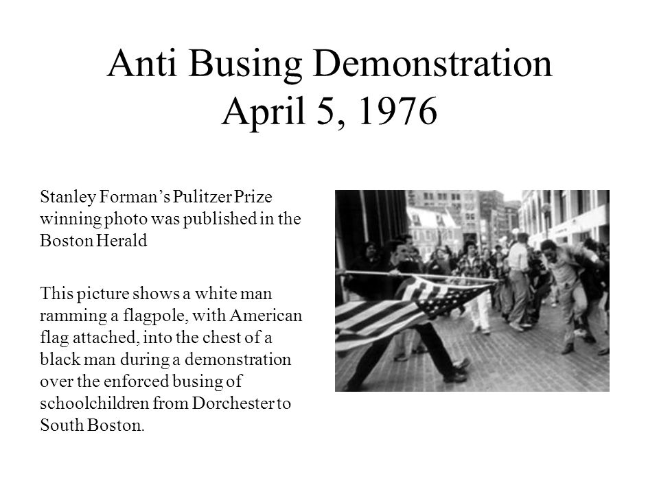 Anti Busing Demonstration April 5, 1976