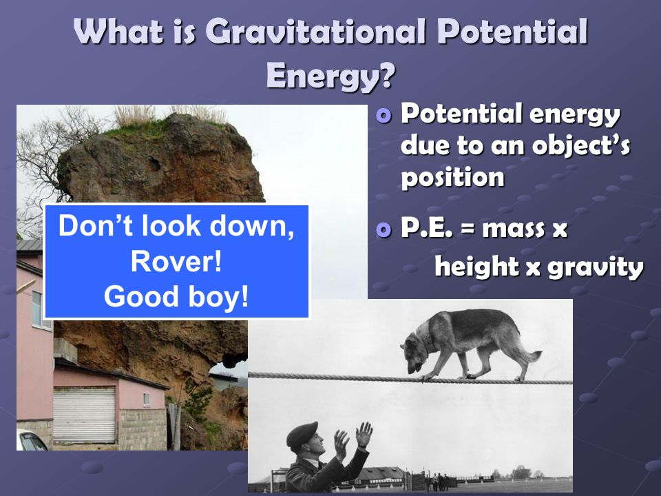 What is Gravitational Potential Energy