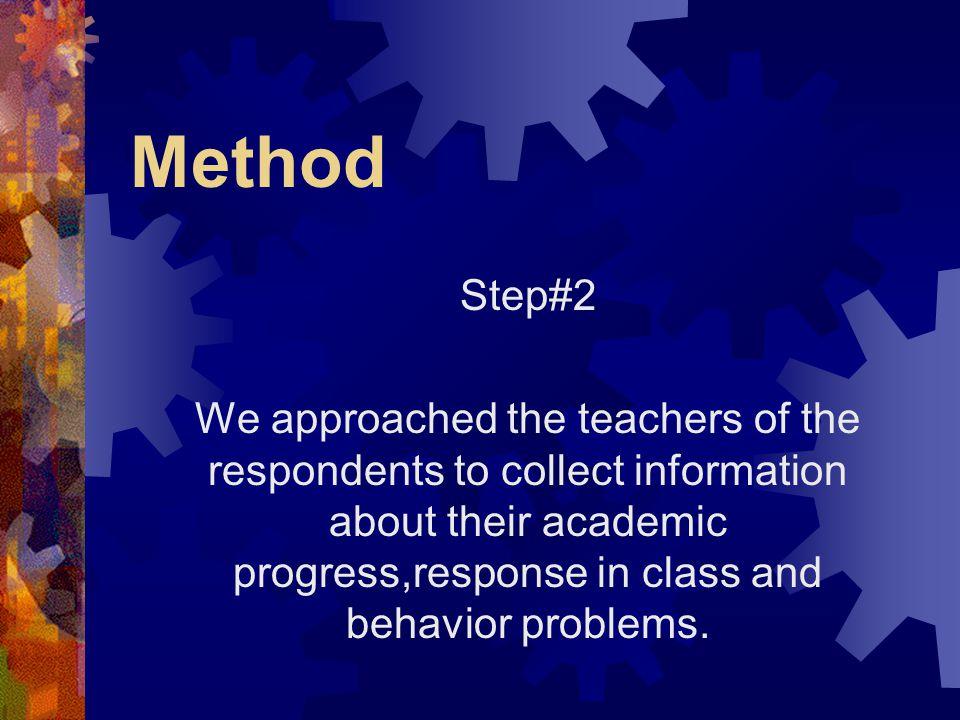 Method Step#2.