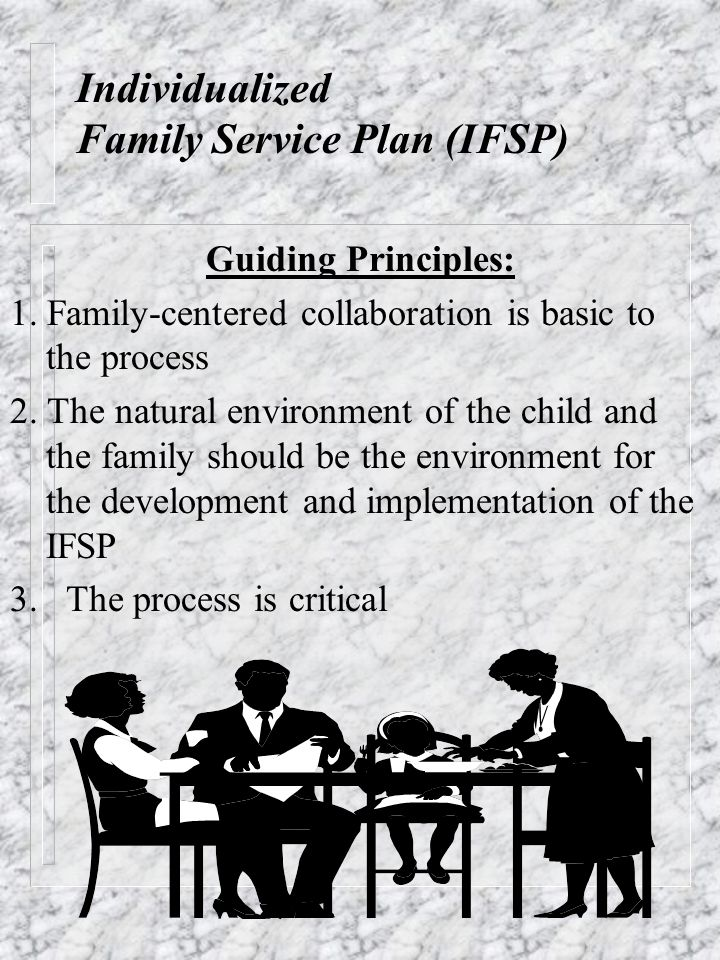 Individualized Family Service Plan (IFSP)