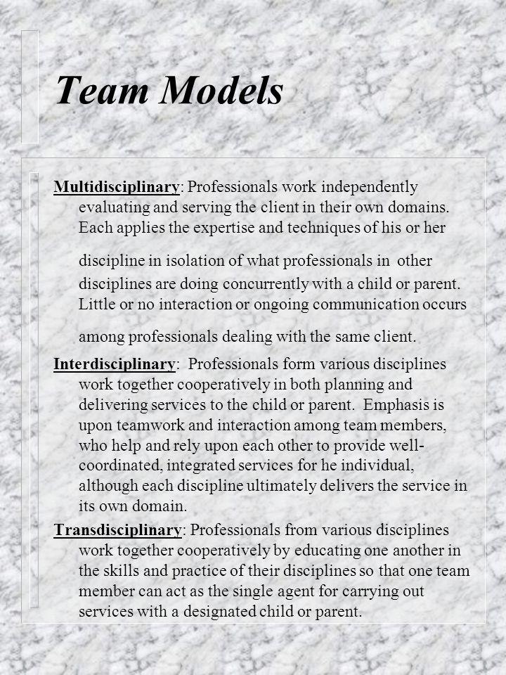 Team Models