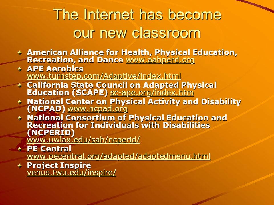 The Internet has become our new classroom