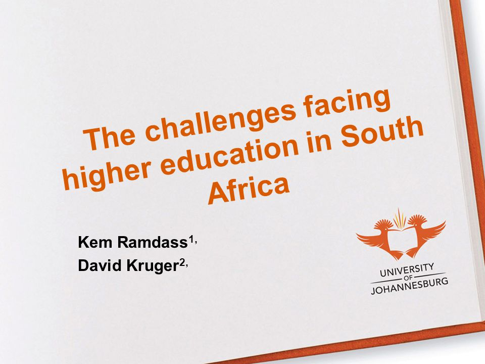 The challenges facing higher education in South Africa