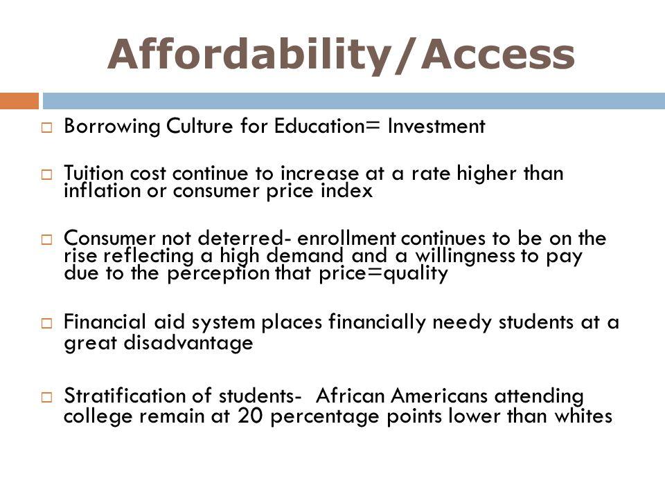Affordability/Access