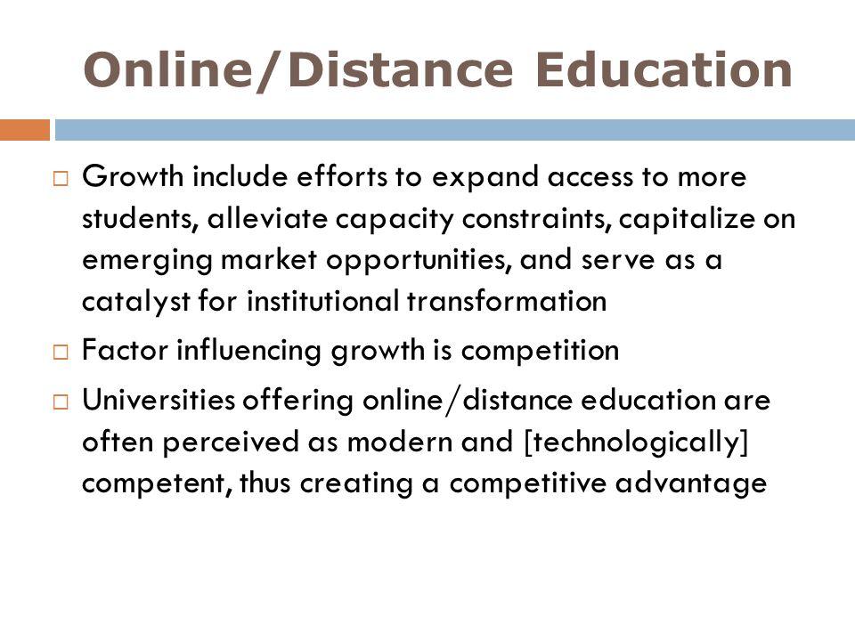 Online/Distance Education