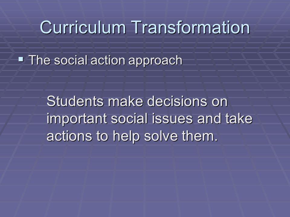 Curriculum Transformation
