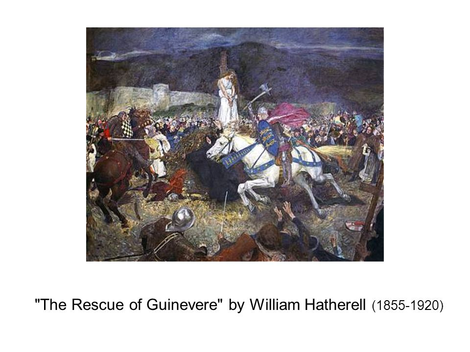 The Rescue of Guinevere by William Hatherell (1855-1920)
