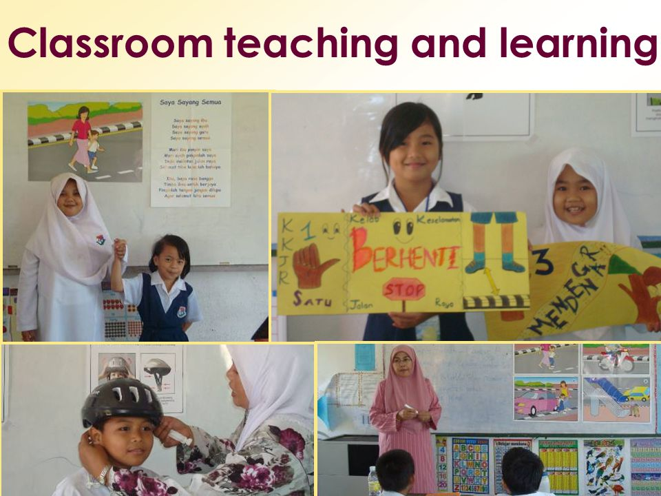 Classroom teaching and learning