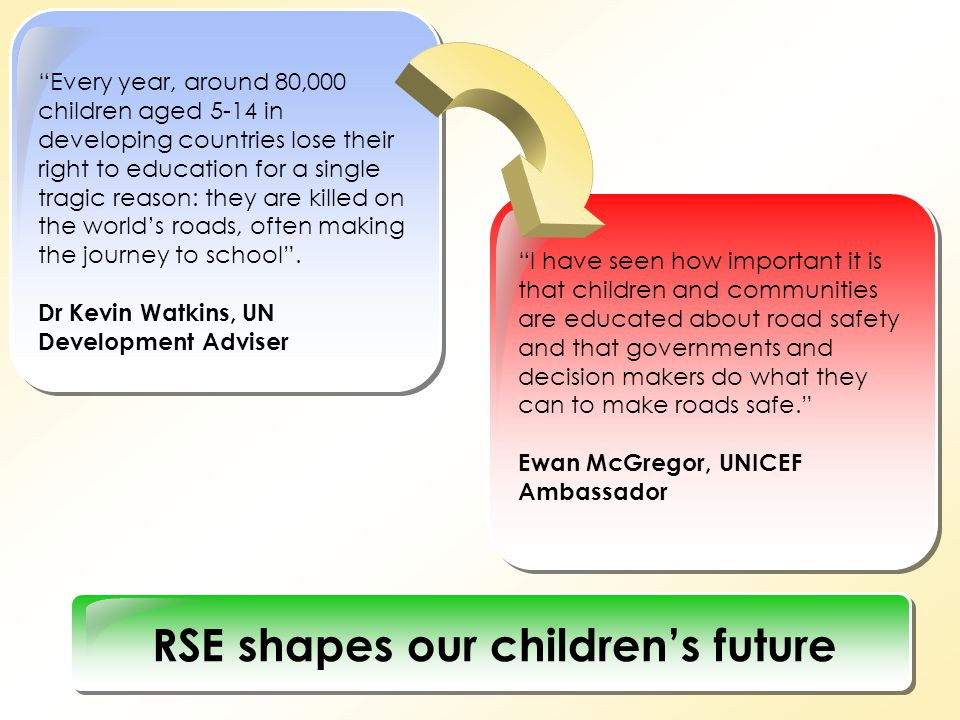RSE shapes our children's future