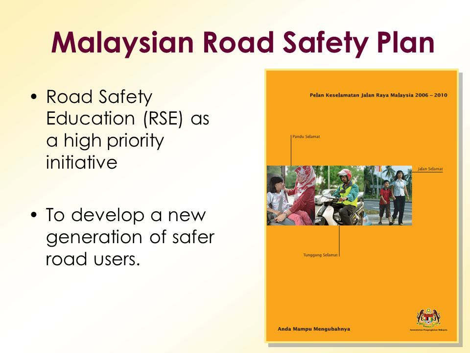 Malaysian Road Safety Plan